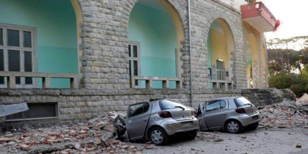 Δεκάδες τραυματίες έπειτα από ισχυρό σεισμό στην Αλβανία