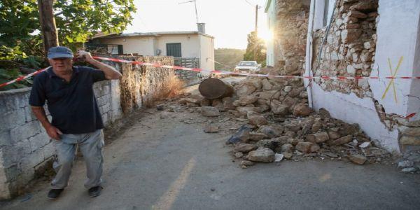 Ανησυχία για τα κτίρια από τους συνεχείς μετασεισμούς στο Αρκαλοχώρι | Pancreta Ειδήσεις