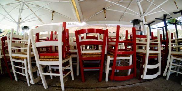 Ανοιχτή η εστίαση από σήμερα, χωρίς μουσική, με τραπεζοκαθίσματα αποκλειστικά σε ανοικτό χώρο - Ειδήσεις Pancreta
