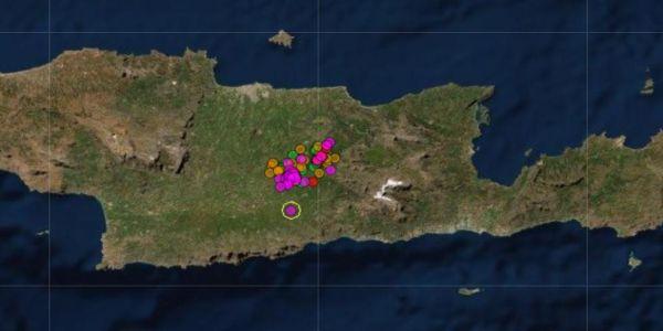 Απανωτοί σεισμοί, πολύ αισθητοί στο Ηράκλειο | Pancreta Ειδήσεις