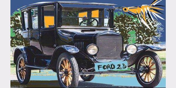ΜΙΑ  ΜΑΥΡΗ  ΦΟΡΝΤ... Ζωγραφιές οχημάτων προγενεστέρας εποχής - Ειδήσεις Pancreta