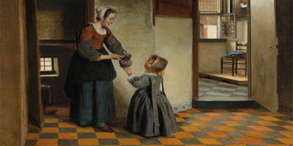 Ο Ολλανδός ζωγράφος Πίτερ ντε Χόοχ και η τελετή breeching (boys)