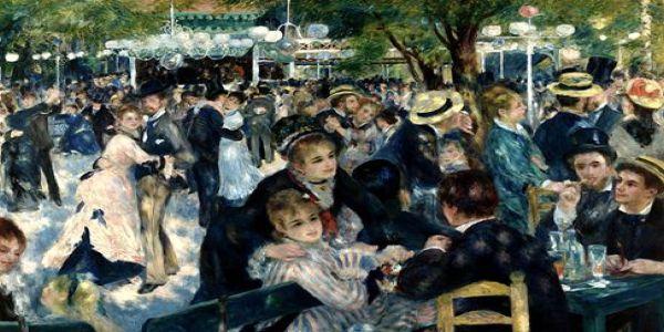 Ρενουάρ - Ο χορός στο Moulin de la Galette - Ειδήσεις Pancreta