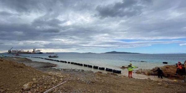 Ολοκληρώθηκε η πόντιση του καλωδίου της μικρής διασύνδεσης της Κρήτης - Ειδήσεις Pancreta