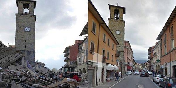 Το πριν και το μετά στην πόλη Αματρίτσε