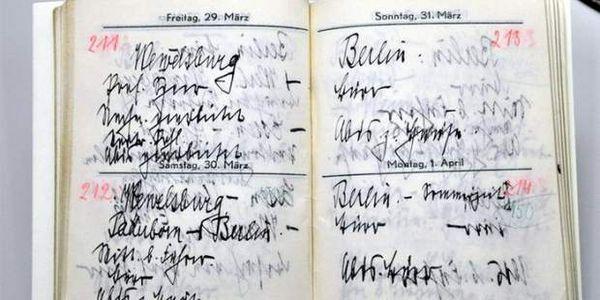 Βρέθηκε το ημερολόγιο του αρχηγού των SS Χάινριχ Χίμλερ - Ειδήσεις Pancreta