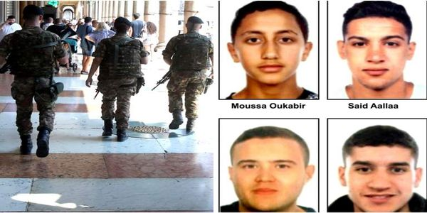 Ο δράστης της επίθεσης στη Βαρκελώνη πιθανόν ζει και διαφεύγει - Ανθρωποκυνηγητό και στη Γαλλία