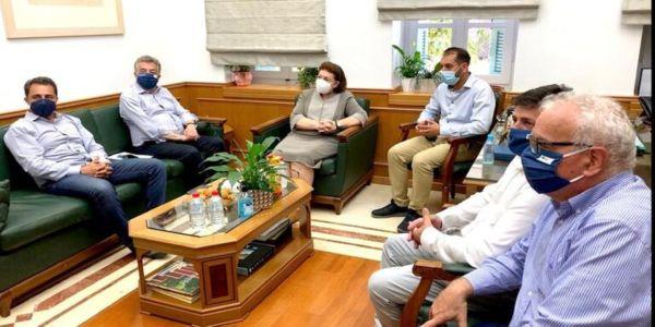 Συνεχίζεται η επίσκεψη Μενδώνη στην Κρήτη - Σε Γόρτυνα και Φαιστό η υπουργός - Ειδήσεις Pancreta