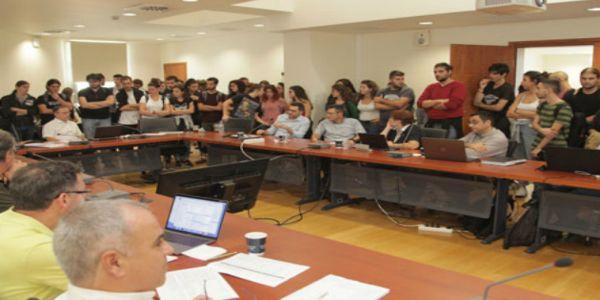 Ηράκλειο: Παρέμβαση φοιτητών στη Σύγκλητο του Πανεπιστημίου