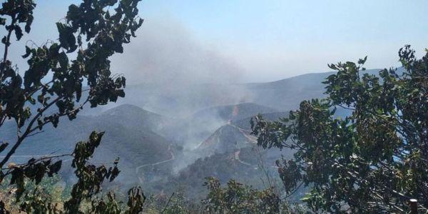 Κρήτη: Για τρίτη ημέρα καίει η πυρκαγιά στην Κάνδανο