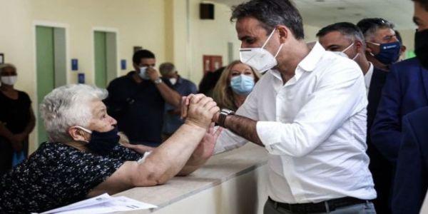 Μήνυμα ενότητας και κάλεσμα εμβολιασμού έκανε από το Ηράκλειο ο Κυριάκος Μητσοτάκης - Ειδήσεις Pancreta