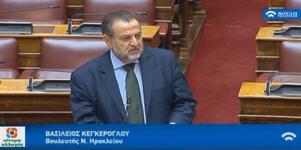 Β.Κεγκέρογλου: «Να αντιμετωπιστεί η απαξίωση του ελαιόλαδου και να στηριχθούν οι ελαιοπαραγωγοί». - Ειδήσεις Pancreta
