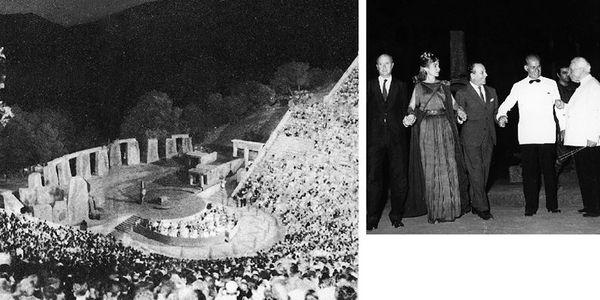 Όταν η Κάλλας τραγούδησε στην Επίδαυρο - Ειδήσεις Pancreta