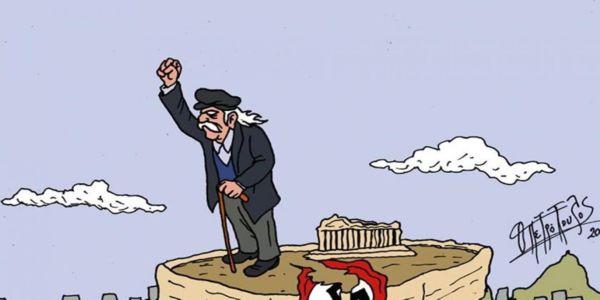 Τα πιο όμορφα σκίτσα για τον Μανώλη Γλέζο