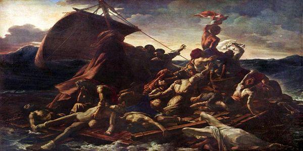 """Και Τότε Ρίξανε τον Κλήρο Να Δούνε Ποιος Θα Φαγωθεί - Η ιστορία του πίνακα """"Η Σχεδία της Μέδουσας"""" - Ειδήσεις Pancreta"""