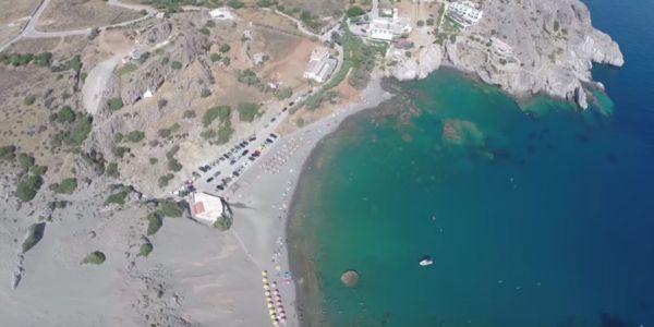 Άγιος Παύλος - Οι Αμμόλοφοι από ψηλά - Ειδήσεις Pancreta