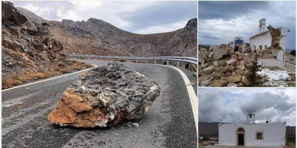 Σεισμός στην Κρήτη: Ενδεχόμενο να μην ήταν ο κύριος - Φόβοι πως το ένα ρήγμα ενεργοποιεί το άλλο - Ειδήσεις Pancreta