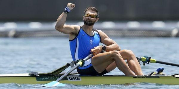 Στέφανος Ντούσκος: Χρυσό μετάλλιο στο μονό σκιφ της κωπηλασίας στους Ολυμπιακούς Αγώνες του Τόκιο - Ειδήσεις Pancreta