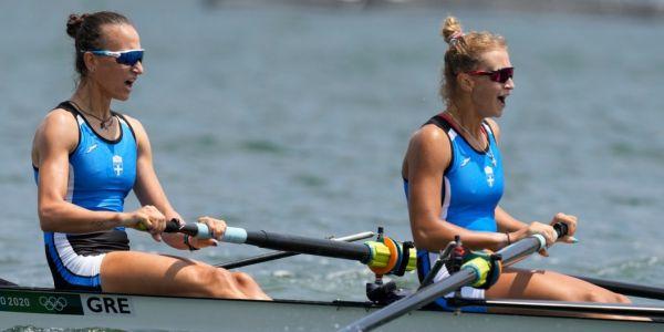 Ολυμπιακοί Αγώνες 2021: Έκαναν υπερπροσπάθεια αλλά τερμάτισαν στην 5η θέση Μπούρμπου και Κυρίδου - Ειδήσεις Pancreta