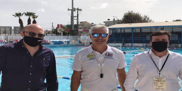 Στην έναρξη του τουρνουά υδατοσφαίρισης παίδων ο Αντιδήμαρχος Αθλητισμού - Ειδήσεις Pancreta