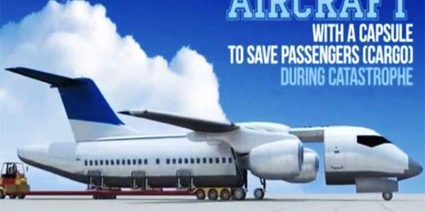 Ρώσος σχεδίασε αεροπλάνο που θα μπορεί να σώζει τους επιβάτες του - Ειδήσεις Pancreta