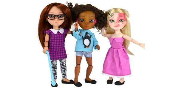 Toy like me: Αυτές οι κούκλες με αναπηρία στηρίζουν την διαφορετικότητα - Ειδήσεις Pancreta