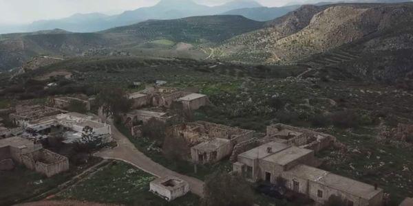 Το χωριό «φάντασμα» της Σητείας από ψηλά [ΒΙΝΤΕΟ]