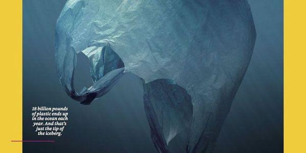 «Πλανήτης ή πλαστικό;» - Το συγκλονιστικό εξώφυλλο του National Geographic