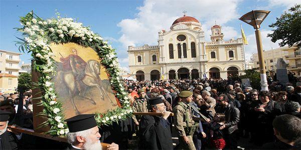 Αργία στο Ηράκλειο για τον πολιούχο της πόλης Άγιο Μηνά - Ειδήσεις Pancreta