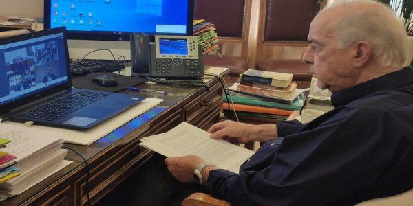 Σε διαδικτυακή ημερίδα της ΔΕΘ ο Δήμαρχος Ηρακλείου Βασίλης Λαμπρινός - Ειδήσεις Pancreta