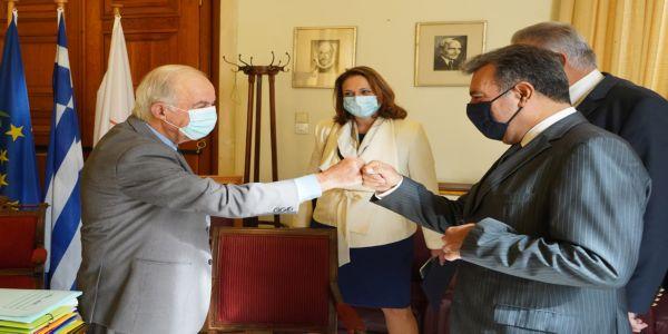Συνάντηση Δημάρχου Ηρακλείου με Υφυπουργό Τουρισμού - Ειδήσεις Pancreta