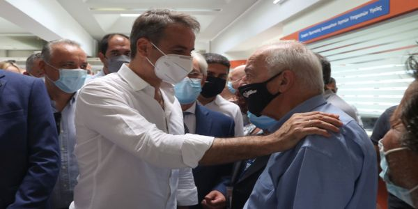 Ο Δήμαρχος Ηρακλείου Βασίλης Λαμπρινός στη σύσκεψη με τον Πρωθυπουργό για τους εμβολιασμούς - Ειδήσεις Pancreta