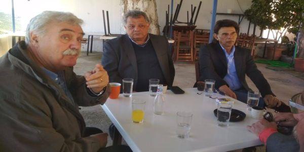 """Επίσκεψη των """"Ενεργών Πολιτών"""" στις Βούτες - Ειδήσεις Pancreta"""
