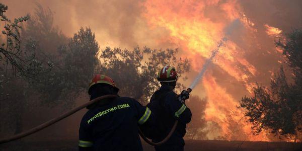 Μεγάλη φωτιά ξεκίνησε στους Μεσελέρους Ιεράπετρας - Ειδήσεις Pancreta