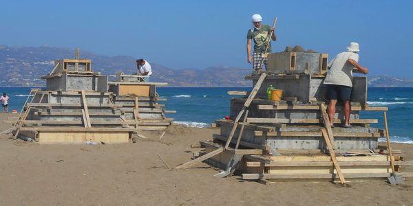 Αποκαλύπτονται οι δημιουργίες των καλλιτεχνών στο φεστιβάλ γλυπτικής στην άμμο στην Αμμουδάρα! - Ειδήσεις Pancreta