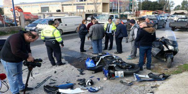 Νεκρός μοτοσυκλετιστής σε τροχαίο στο Ηράκλειο
