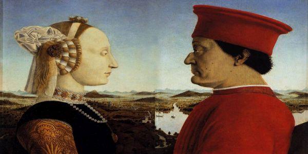 Ο Δούκας και η Δούκισσα του Ουρμπίνο από τον Πιέρο ντέλλα Φραντσέσκα