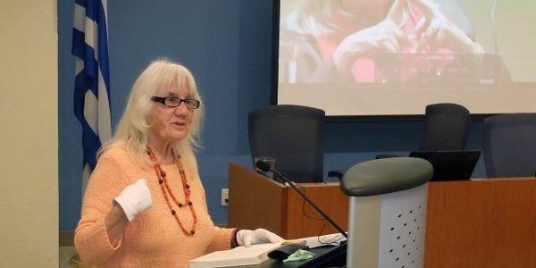 Η συγγραφέας Ιωάννα Καρατζαφέρη στο Ηράκλειο - Ειδήσεις Pancreta